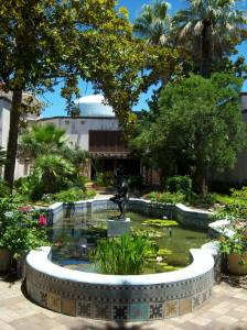 Photo of the McNay Art Museum Courtyard