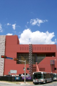 Photo of the San Antonio Public Library's Main Branch