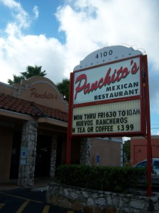 Photo of Panchito's Mexican Restaurant's exterior, 4100 McCullough.
