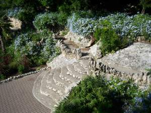 Photo of a Sunken Gardens stairway.