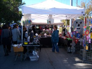 Photo of Scarlette Dove Jewelry and Mexican Folk Art booth