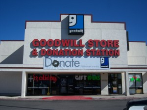 Photo of Goodwill on Austin Highway at Eisenhauer/Harry Wurzbach.