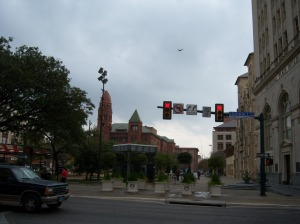 Photo of San Fernando Cathedral's Main Plaza.