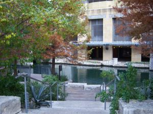 Photo of San Antonio River Walk just off Main Plaza.