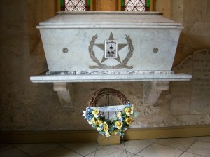 Photo of Alamo heroes' tomb