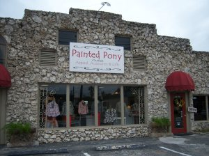 Photo of the Painted Pony Outlet.